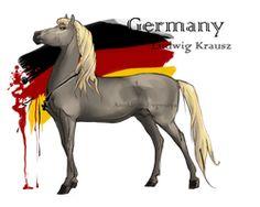 Horse Hetalia: Germany by MUSONART