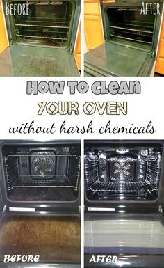 How to clean your oven without harsh chemicals - getCleaningTips.com