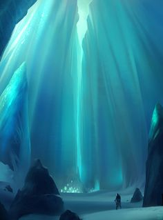 This was an ice cavern located in the south where River and Katara would head whenever they just wanted to be alone. Or practice their water-bending. River hasn't seen her friend in more than six years.
