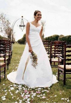 Davids Bridal Shoulder Sweetheart Neckline Bridal Dresses   #wedding #dress
