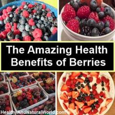The Amazing Health Benefits of Berries