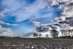 Blue sky by CorinaEne. Please Like http://fb.me/go4photos and Follow @go4fotos Thank You. :-)