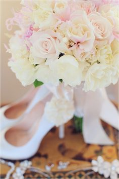 Fabulous Florals: Pink Wedding Bouquets | Vanessa Joy Photography