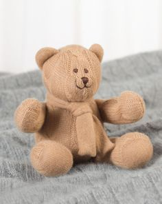 Small Cashmere Bear - Baby Little Luxuries - RalphLauren.com
