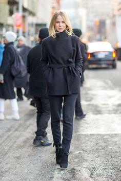 Elin Kling #New York Streetstyle #NYFWfall2014