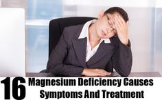 16 Magnesium Deficiency Causes Symptoms And Treatment | Health ...