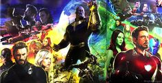 Avengers infinity war complete poster #HiveSurvives