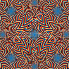 Zigzag Riot  (motion illusion):      abstract   art   artistic   backdrop   background   circles   decoration   decorative   design   geometric   graphic   illusion   modern   optical illusion   ornament   pattern   rotate   rotating   stripe   texture   wallpaper   wavy   zigzag