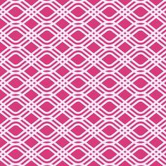 Alison Glass - Sun Print Party Streamer - Party Streamer in Raspberry