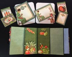 Hi everyone :-)   Here are some pictures of theGraphic 45 Home Sweet Home 5 x 5 Mini Album.   This album can be used for a photo album or ...