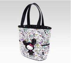 4808ca6c63c2 Tokidoki x Hello Kitty Large Tote Sanrio Kawaii Cute Purse Bag