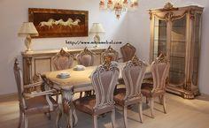 Set Meja Makan Klasik 8 Kursi Model Mewah merupakan produk furniture Mitra Mebel jepara yang kami tawarkan kepada anda
