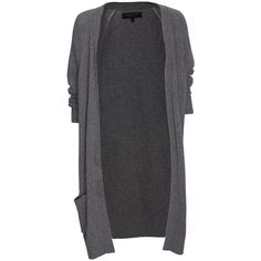 rag & bone Charlize Oversized Cardigan ($79) ❤ liked on Polyvore featuring tops, cardigans, outerwear, womens cardigans, cashmere cardigan, women tops, henley tops y gray cardigan