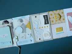 Exemple album photo scrapbooking tuto