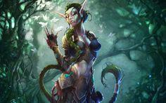 fantasy games elf forest