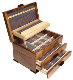 2 Drawer #Jewelry #Chests - Mikutowski Woodworking