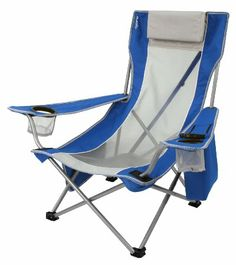Kijaro Beach Sling Chair, Maldives Blue $45. up to 300lbs - wait for back in stock?