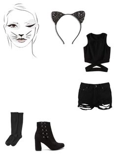 """Sin título #107"" by cande-izzo on Polyvore featuring moda, Cara, Boohoo y Goodhew"