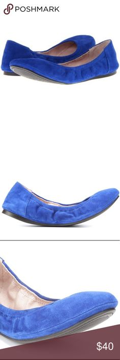 Vince Camuto Royal Blue ELLEN Ballet Flats New 8B Vince Camuto Royal Blue ELLEN Ballet Flats New no box. Size 8B. Thanks for looking! Vince Camuto Shoes Flats & Loafers