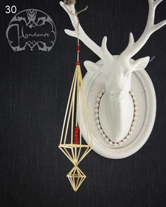 Blogg - Handante Christmas 2017, Christmas Ornaments, All I Ever Wanted, Handmade Ornaments, Chandelier Lighting, Triangles, Handicraft, Mobiles, Projects To Try