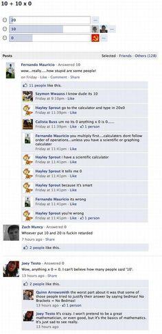 FB Question Fail