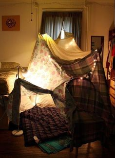Waking Up In A Pillow Fort New Years Day 2012 PRICELESS