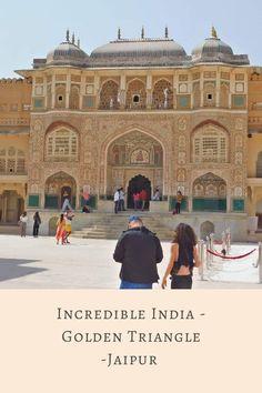 Jaipur - Incredible India - Golden Triangle - The Neverending Honeymoon Amer Fort, Ghost City, Next Us, Golden Triangle, North India, Incredible India, Jaipur, Travel Inspiration, Taj Mahal