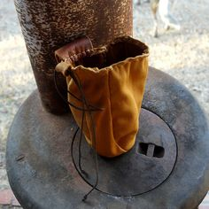Small Deer-skin Possibles Pouch by dog.breath, via Flickr