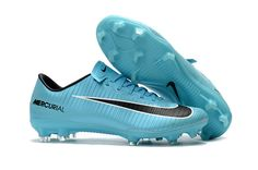 check out 35c65 84b04 New Nike Mercurial Vapor 2017 Boots , Nike Mercurial Vapor XI FG Turquoise  Blue Black Boots Free shipping fee   up to 50% off Cheap football boots on  sale ...