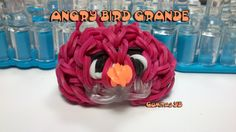 Angry bird grande / Angry bird rainbow loom big