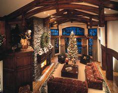 Timberframe Christmas