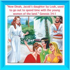 """Bible Lesson for Us: Genesis 34:1, 30. The trouble that """"brought ostracism"""" upon Jacob started because Dinah made friends with people who did not love Jehovah. We must choose our associates wisely.  Visit JW.org it has the bible & bible study aids in 300+ (including sign) languages to read, watch, listen &/or download."""
