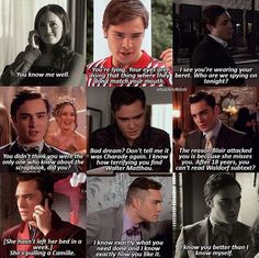 He knows blair more than he knows himself