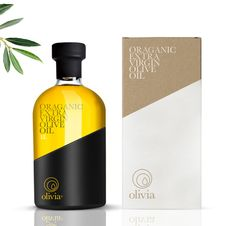 Olivia Organic Extra Virgin Olive Oil on Packaging of the World - Creative Package Design Gallery Olive Oil Packaging, Bottle Packaging, Packaging Ideas, Food Packaging, Olives, Ice Cream Design, Olive Oil Bottles, Packaging Design Inspiration, Organic Oil