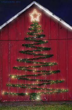 Resultado de imagen para arbol navidad pared