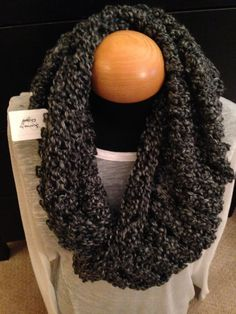 Handmade knit infinity winter scarf - Edwardian.  By: Scarves by Chelsey  #knit #infinity #scarf #handmade #scarves #winter #warm #fashion  www.facebook.com/scarvesbychelsey Check us out on Etsy!