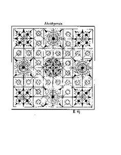 Jacques Foillet - Musterbuch 1598  Fantastic Needle lace Patterns