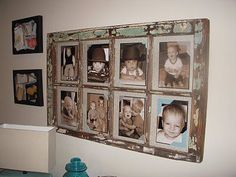 Window frame pictures- I'm going to do this!!