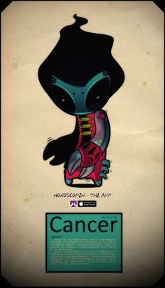 Like the moon, Cancer is always changing and is never the same two nights in a row. #Cancer#astrology #horoscope #zodiac More: http://apple.co/2ibuFaJ or search Horoscoper instore