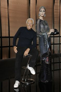 Giorgio Armani [Photo by Stéphane Feugère]