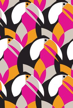 Eleanor Design and Illustration Art And Illustration, Pattern Illustration, Illustrations, Motifs Textiles, Textile Patterns, Textile Prints, Print Patterns, Geometric Patterns, Surface Pattern Design