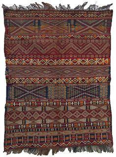 androphilia:  Zemmour Cushion Cover, Middle Atlas, Morocco, Circa 1900-1910
