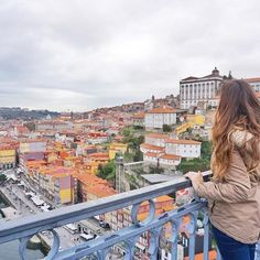 After Lisbon it was on to Porto! Which I actually ended up liking even more than Lisbon 🙊 (and no it wasn't just because I drank a lot of port...🍷). What are some of your favourite places in a country that aren't the capital? 🇵🇹 // #portugal #porto #oporto