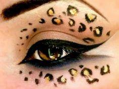 Leopard Print - Make Up Tutorial (Halloween)