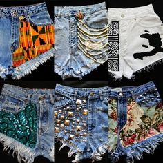 I'm gunna get creative with my old jeans that are too big this summer :) Oh yeahh