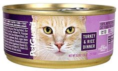 PetGuard Canned Cat Food Turkey and Rice Dinner -- 5.5 oz - 2PC -- See this great product. (This is an affiliate link and I receive a commission for the sales)