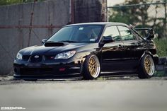 Low  Loud // Vic's Slammed Subaru STI. | Stance:Nation - Form  Function