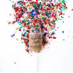   Push Pop Confetti   Shop in store   Gift it   Party Fun   Birthday Fun   Sabi Boutique   Shop Sabi  