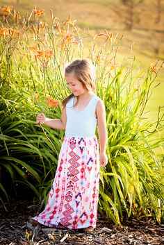 Ryleigh Rue Clothing by MVB - Girls Aztec Babe Maxi, $34.00 (http://www.ryleighrueclothing.com/dresses/girls-aztec-babe-maxi.html/)