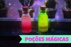 DIY: Bottle Charm Lava Lamps ➸ Poções Mágicas